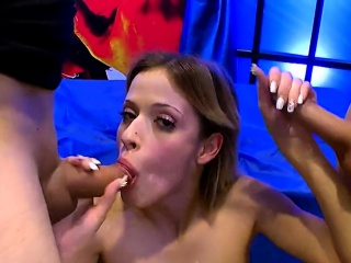 Dirty ria sunn gives anal licking with blowjob
