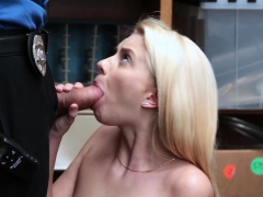Skinny Teen Strip Searched And Fucked By A Mall Cop