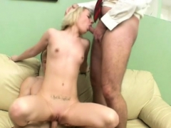 Sweet playgirl offers her wild pussy for teacher's fun