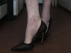 Older Crossdressers First Time Solo
