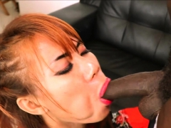 Young Ladyboy Teen Ass Destroyed By A Big Black Cock