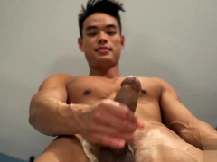 Asian Gay Rimjob And Cumshot