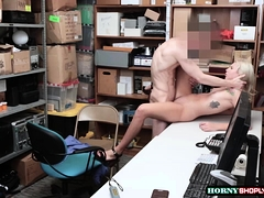 Teen Chanel gets banged by officers cock