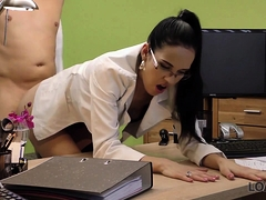 Elis Passes Dirty Casting In Loan Agency With Strange Man