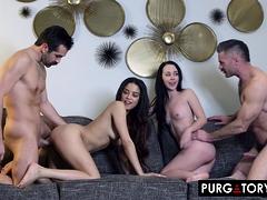 PURGATORYX Let Me Watch Vol 1 Part 3 with Bambi and Maya