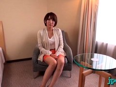 Aroused japanese sure likes the ramrod in smooth pov