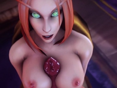 3D Characters with Huge Nice Ass Gets Fucks and Creampied