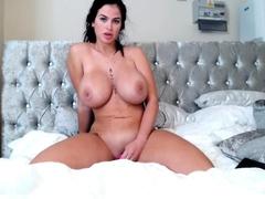 Bbw woman solo toying masturbation