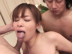 Anal orgy nightmare for little hairy asian