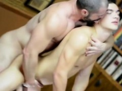 Young mormon guy assfucked by older gay man