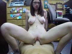 Jenny fucks pawnshop owner for revenge
