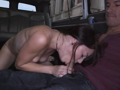 Luscious hot chick Kaisey Dean fucks a huge dick